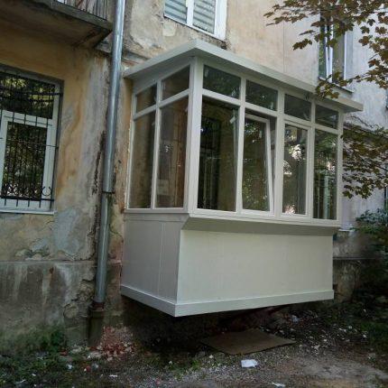 балкон с нуля Львов
